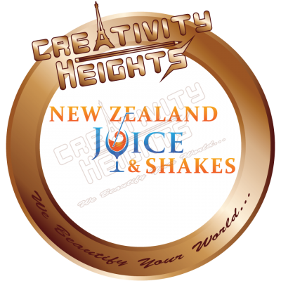 New Zealand Juice and Shakes Logo